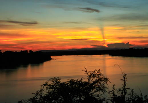 View over the Luangwa river
